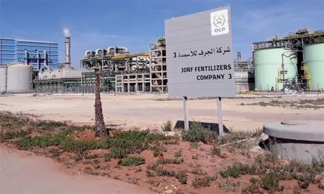 L'OCP ouvre à la presse sa nouvelle usine intégrée de production d'engrais à Jorf Lasfar