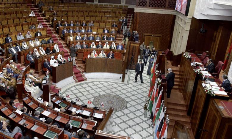 Les présidents des Parlements arabes expriment leur refus catégorique de toute atteinte au statut juridique, politique et historique d'Al-Qods