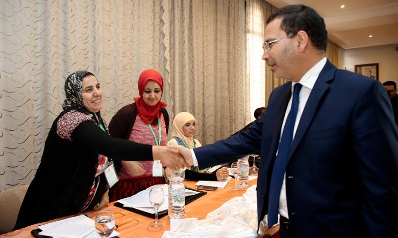El Khalfi annonce le lancement de la plateforme électronique du ministère