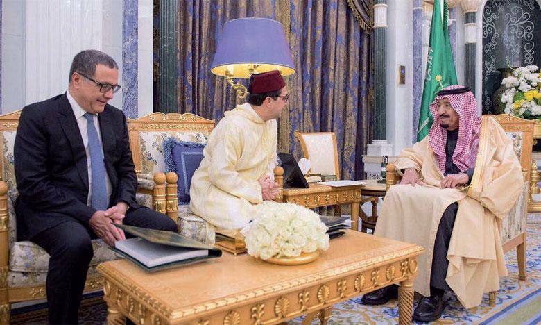 Les relations bilatérales et les derniers développements sur la scène régionale et internationale au centre d'entretiens à Riyad de M. Bourita avec son homologue saoudien