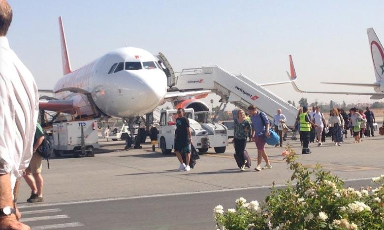 Aéroport Marrakech-Ménara : hausse de 10,32 % du nombre de passagers en 2017