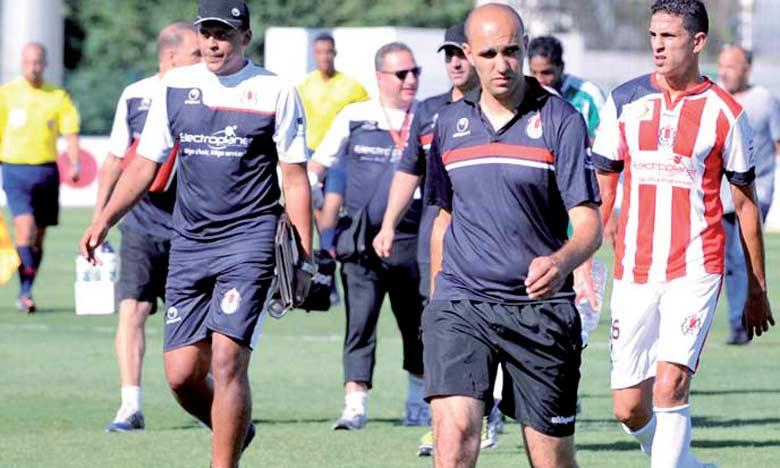Walid Regragui, entraîneur du FUS.