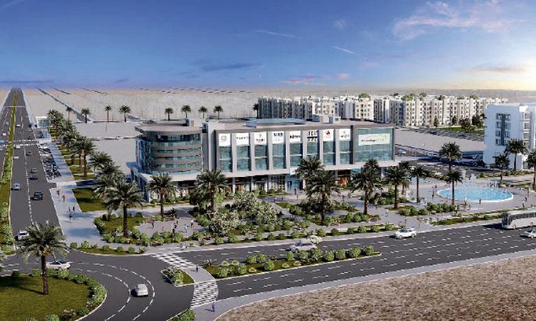 Une nouvelle place commerciale pour la cité des phosphates