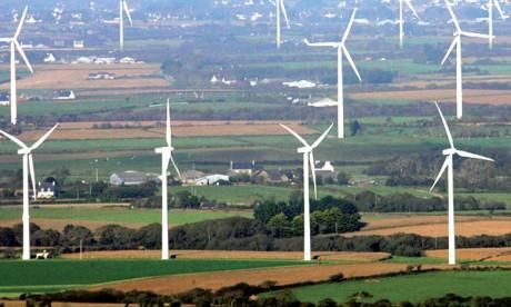 Le gisement éolien à l'étude pour préparer de grands projets
