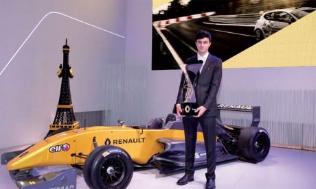 Michael Benyahia décroche  le titre du Champion d'Europe de Formule Renault 2017