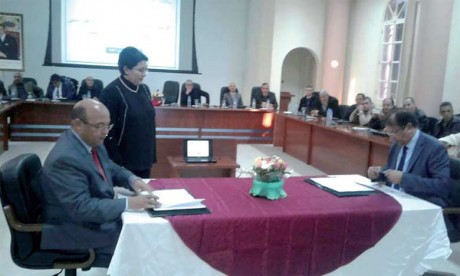 Signature d'une convention entre l'AREF  et la Mutuelle générale de l'éducation nationale