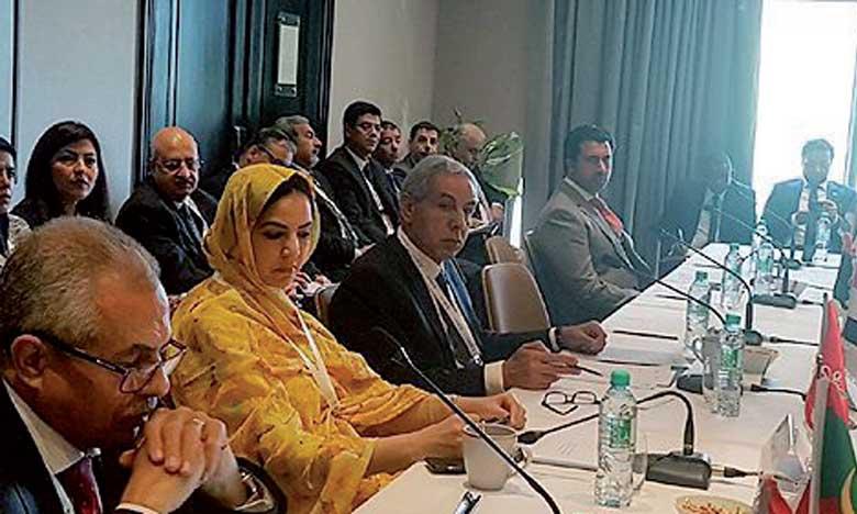 Rkia Derham : «Le Maroc demeure convaincu de la nécessité de continuer  à soutenir un système commercial multilatéral ouvert et équitable»