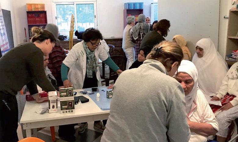 Le Rotary Cap Spartel organise une campagne de dépistage  du diabète