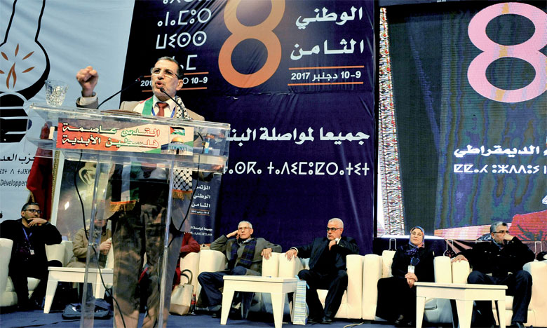 M. El Othmani, qui succède dans ce poste à Abdelilah Benkirane, a obtenu 1.006 voix, contre 912 pour Driss El Azami.