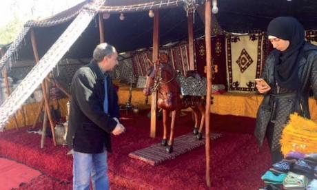 Coup d'envoi du Salon  régional de l'artisanat
