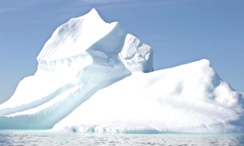 La couverture de glace marine de l'Arctique et de l'Antarctique demeure à de plus bas records.                                                                                                                                                   Ph. DR