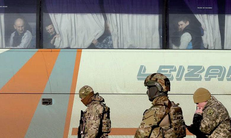 Échange de prisonniers sans précédent entre Kiev et les séparatistes