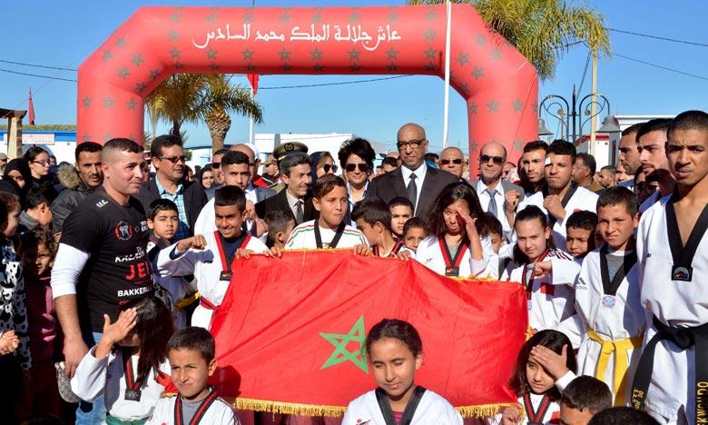 La Caravane «Sport pour tous» fait escale à Driouch