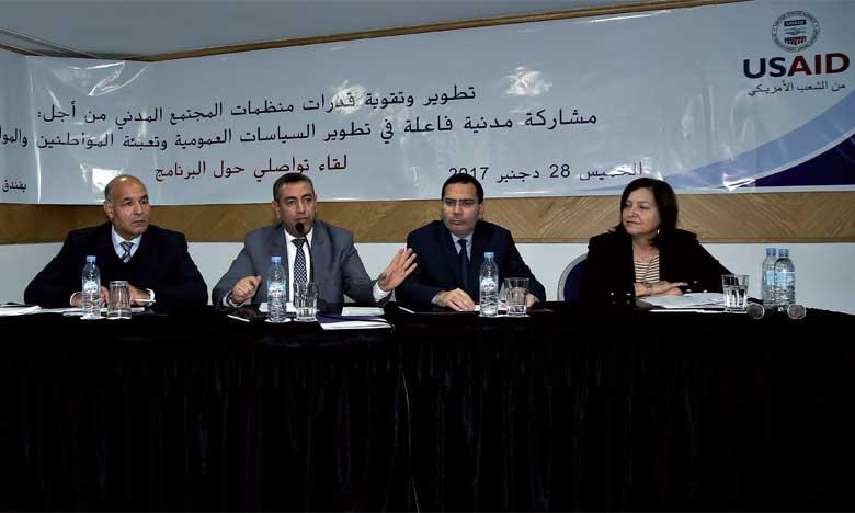 Mustapha El Khalfi appelle à une meilleure interaction  de la société civile avec les politiques publiques