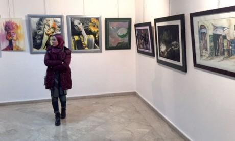 Salon du Maroc des arts plastiques à la galerie Mohammed Kacimi