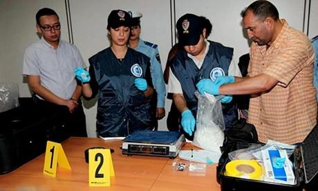 2,325 kg de cocaïne extraits des intestins d'un Congolais
