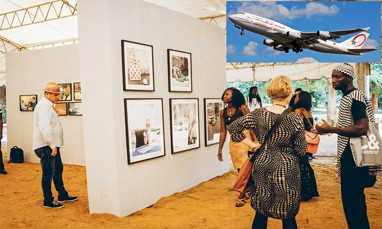 Manifestation de grande envergure pour la promotion de l'art de la photographie en Afrique, la compagnie nationale Royal Air Maroc devient le transporteur officiel de la Biennale africaine de la photographie pour les deux éditions 2015 et 2017. Ph : DR