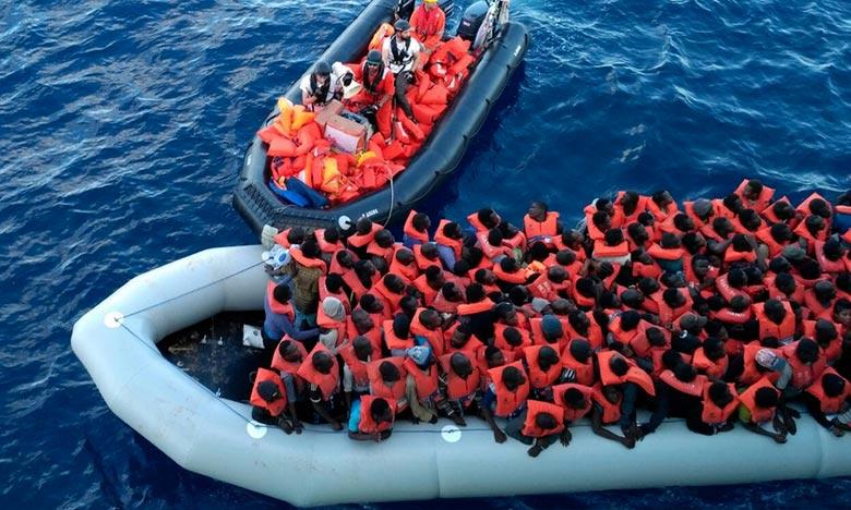 Une centaine de migrants secourus au large des côtes espagnoles