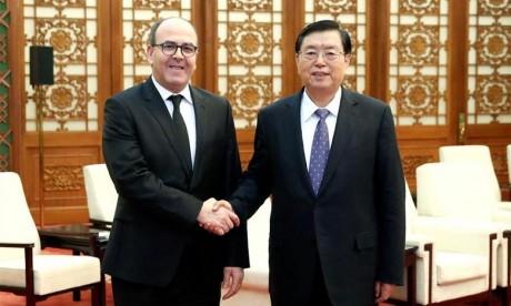Benchamach appelle à la création d'un forum parlementaire sino-marocain