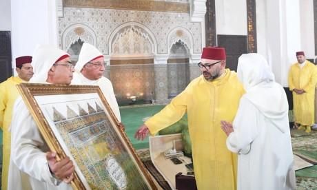 S.M. le Roi, Amir Al-Mouminine, préside à Rabat une veillée religieuse  en commémoration de l'Aïd Al-Mawlid Al-Nabawi Acharif
