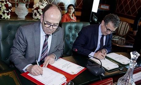 La deuxième Chambre signe une convention de partenariat avec l'UIR