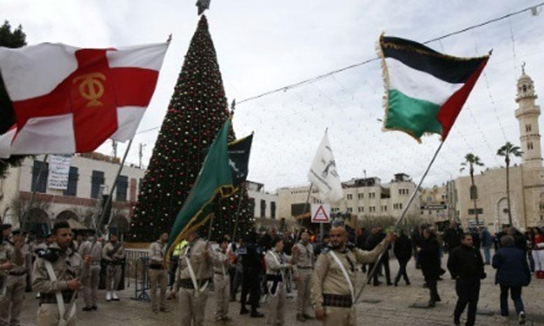 Noël : Les tensions sur Al-Qods ternissent les festivités à Beït Lahm