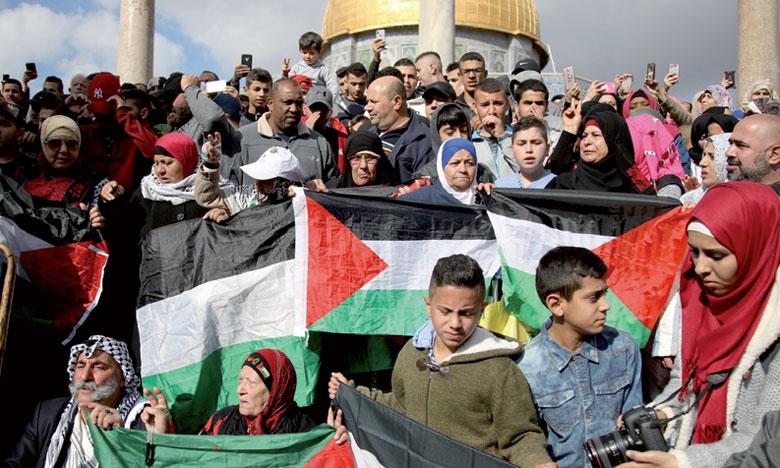 Les manifestations «de colère» se poursuivent dans les territoires palestiniens