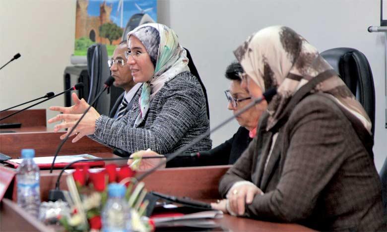 La secrétaire d'État chargée du Développement durable, Nezha El Ouafi.  Ph. MAP