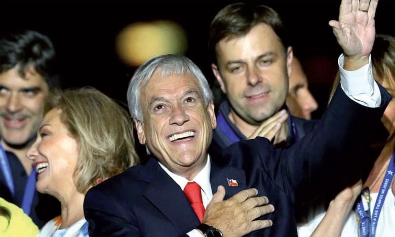 Le conservateur Sebastian Piñera remporte la présidentielle