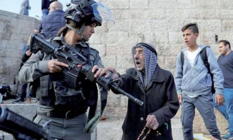 Violences meurtrières, manifestations  et diplomatie sur le statut d'Al-Qods