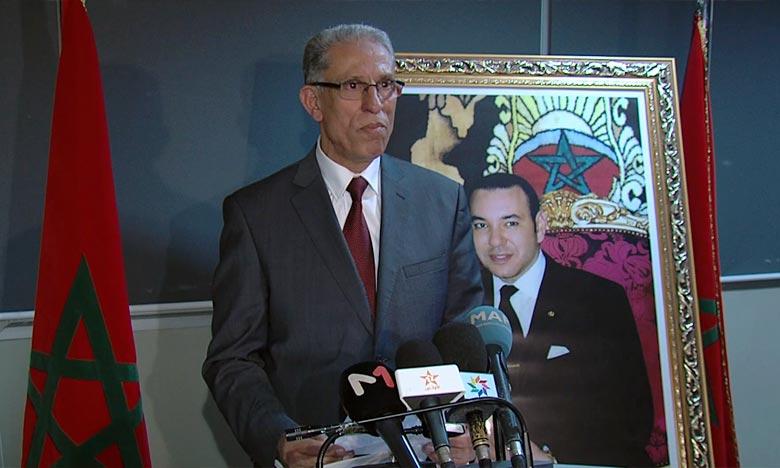 Le procureur général du Roi près la Cour d'appel de Casablanca a indiqué que l'audience s'est déroulée en présence de tous les accusés, aussi bien en détention qu'en liberté conditionnelle, ainsi que leurs avocats. Ph : MAP