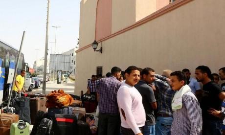 235 Marocains bloqués en Libye ont été rapatriés