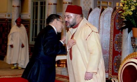 S.M. le Roi félicite le nouveau Secrétaire général du PJD