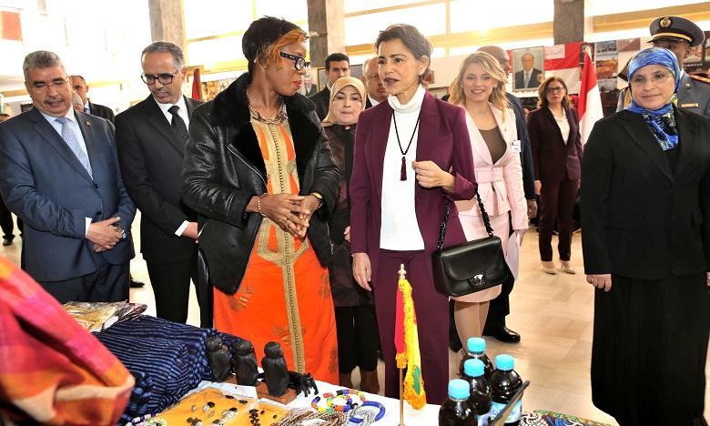 S.A.R. la Princesse Lalla Meryem préside la cérémonie d'inauguration du Bazar de Bienfaisance du Cercle diplomatique