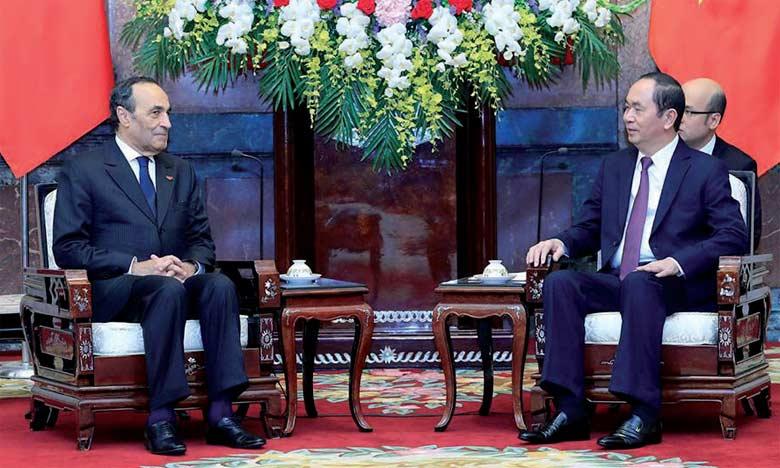 Tran Dai Quang : «Le Vietnam attache une grande importance à ses relations avec le Maroc»