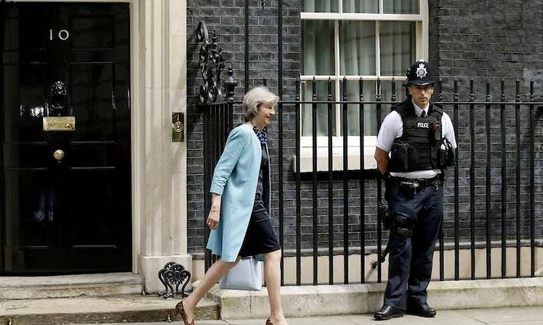Theresa May cible d'une attaque terroriste