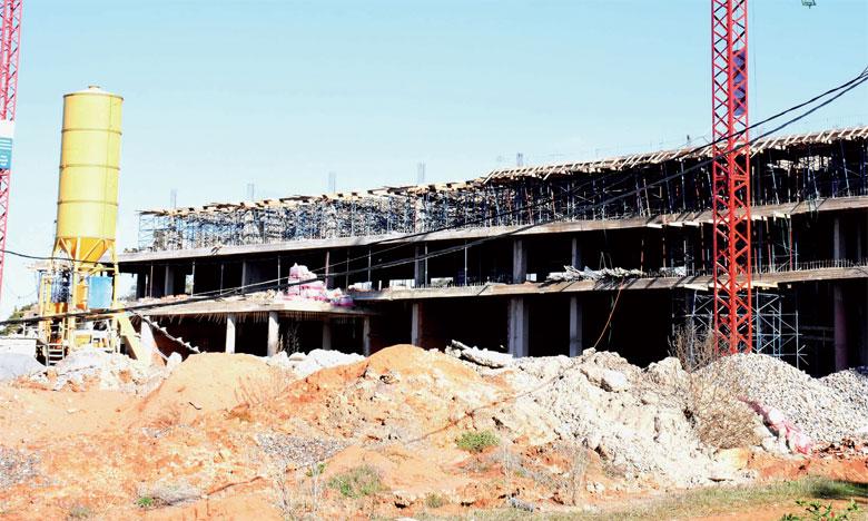 Les travaux de rénovation et de mise à niveau  du centre avancent à grands pas
