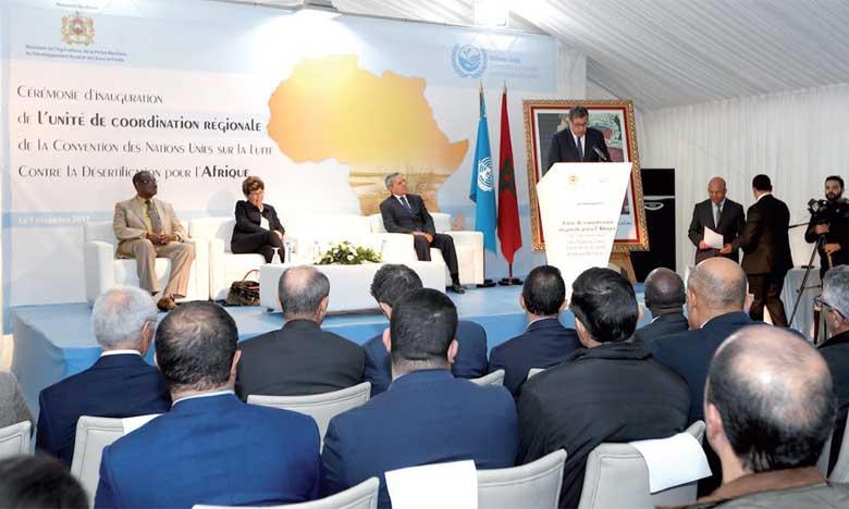 Le Maroc et la Convention des Nations unies inaugurent une nouvelle unité régionale à Rabat