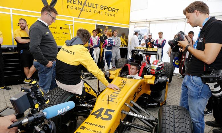 Michael Benyahia est devenu le premier pilote du continent africain à remporter un titre à ce haut niveau du sport automobile. Ph : DR