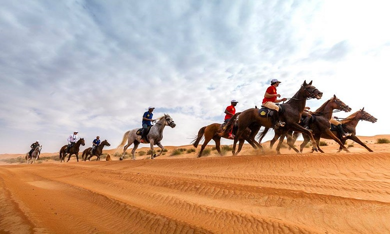 Les « Gallops de Merzouga » : 22 équipes et 110 cavaliers en virée dans le désert marocain