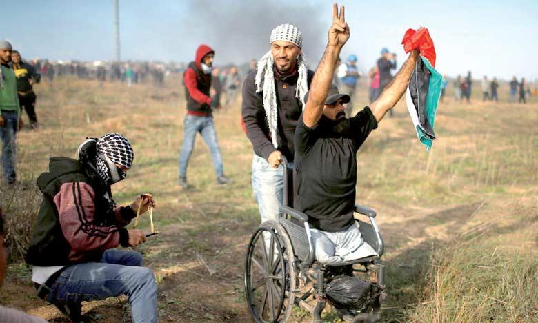 Un Palestinien handicapé tué par  des soldats israéliens