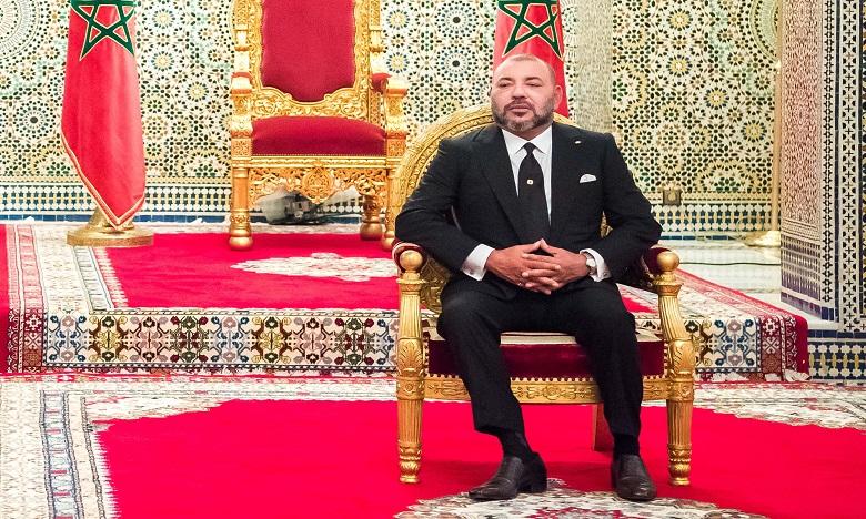 Message de condoléances et de compassion de S.M. le Roi au président français