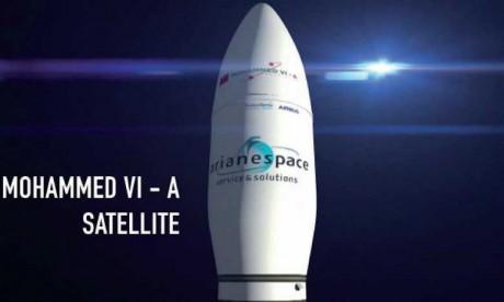 Lancement réussi du satellite Mohammed VI-A