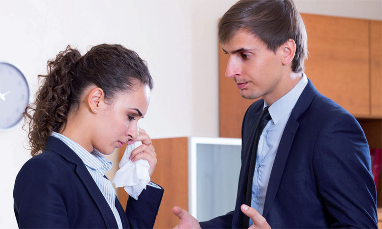 Le plaintif en entreprise, c'est quelqu'un qui se plaint tout le temps et qui a toujours quelque chose de négatif à vous raconter.