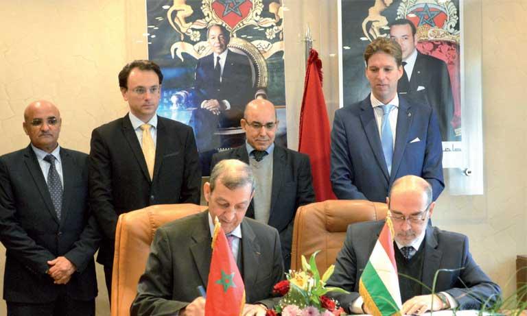 Un mémorandum d'entente Maroc-Hongrie