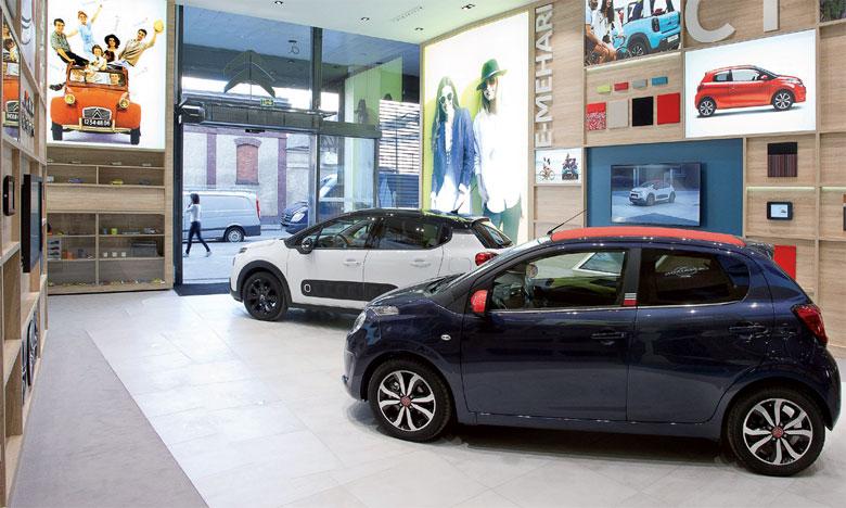 Transformation à 360° pour les showrooms de Citroën