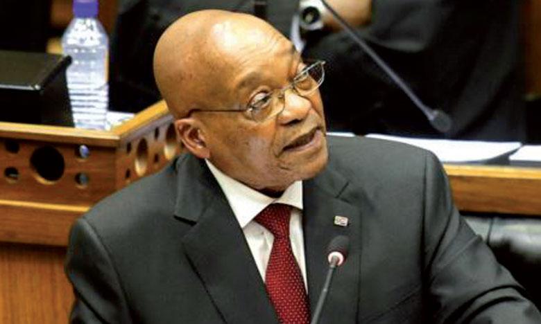 La justice critique le Parlement sur  un scandale impliquant le Président Zuma