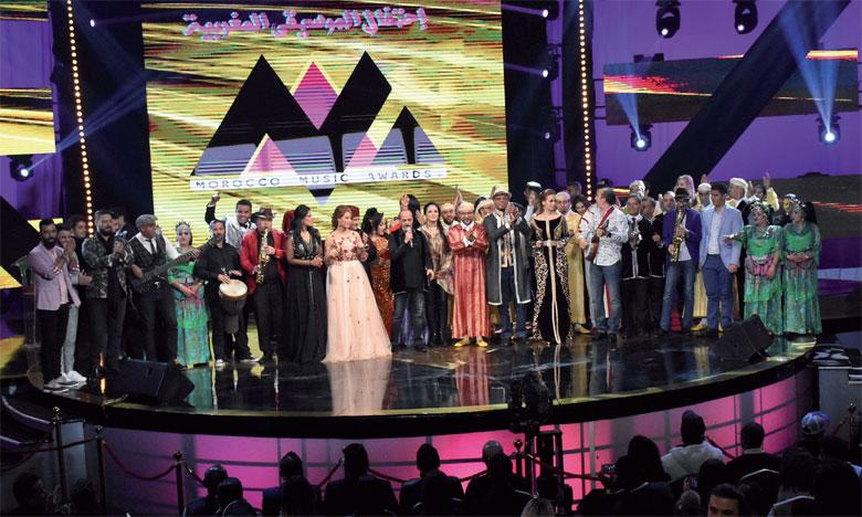 Les meilleurs artistes de la chanson marocaine  récompensés