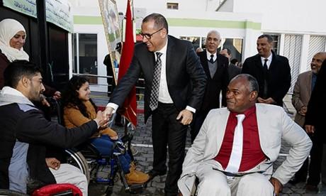 Inauguration d'un Centre d'orientation et de soutien dédié aux personnes à besoins spécifiques à Casablanca