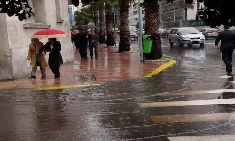 De fortes pluies prévues au Maroc